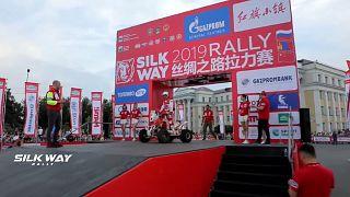 2019 Silk Way Rally underway as mud and rain provide extra challenge