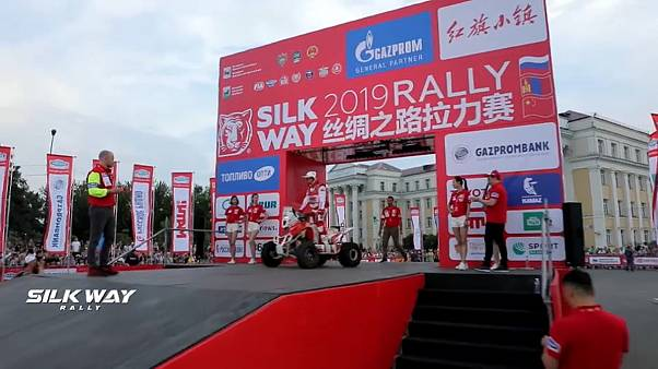 Rutschige Angelegenheit: Etappe 1 der Silk Way Rally