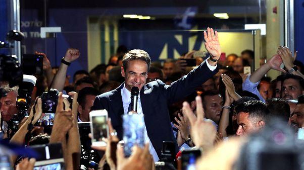Vuelco político en Grecia con la victoria indiscutible de los conservadores de Nueva Democracia