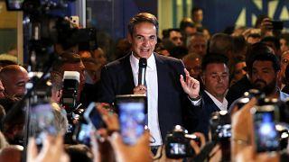 Beiktatták az új görög kormányfőt