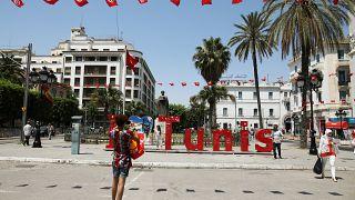 صورة أرشيفية من وسط تونس العاصمة