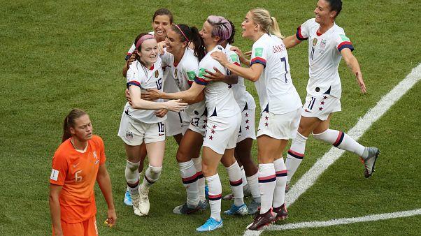 Estados Unidos se proclama vencedora de la final del Mundial de fútbol femenino