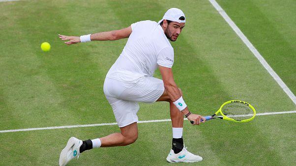 Wimbledon: verso Berrettini-Federer