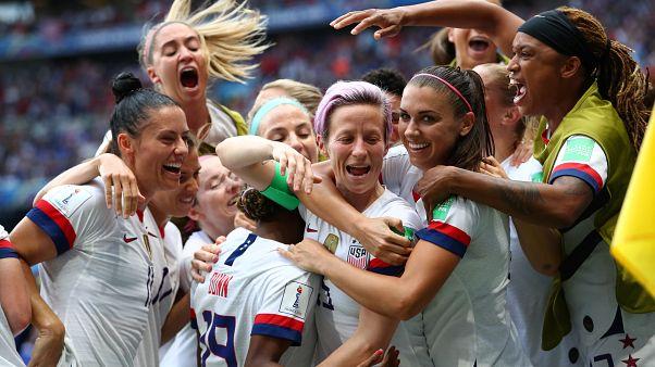 Kadınlar Dünya Kupası'nda şampiyon ABD