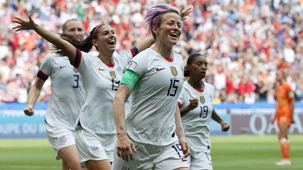 Οι ΗΠΑ κατέκτησαν το Παγκόσμιο Κύπελλο γυναικών