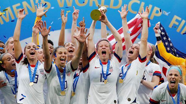 Mondial féminin de football : les Américaines championnes du monde