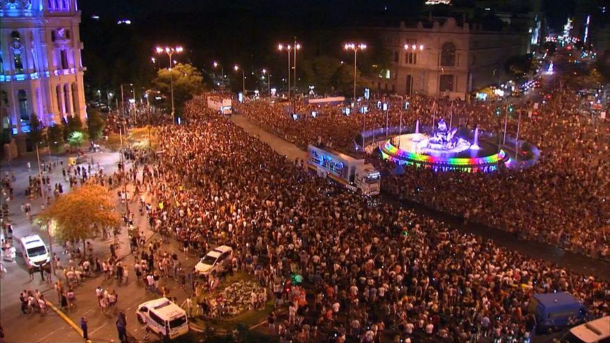برگزاری یکی از بزرگترین رژههای افتخار دگرباشان جنسی در مادرید