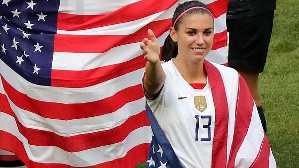 Женская сборная США по футболу стала чемпионом мира, обыграв Нидерланды 2-0
