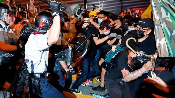 La colère ne retombe pas à Hong Kong