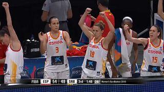 España barre  a Francia y gana la final del Eurobasket femenino