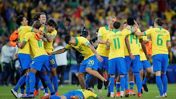 Kupa Amerika: Peru'yu 3-1 yenen Brezilya şampiyon