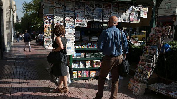 Les Grecs partagés sur les résultats des élections législatives