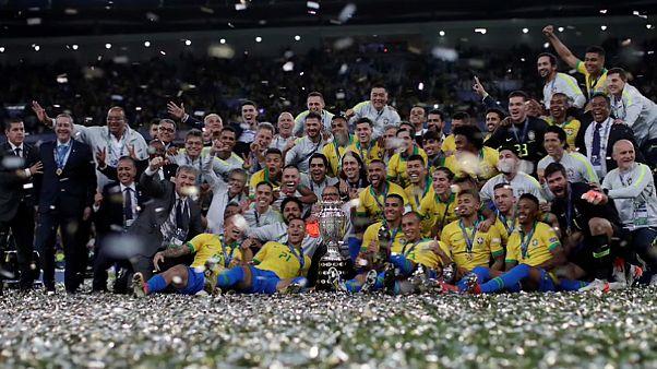 La selección de Brasil vuelve a reinar en el fútbol sudamericano