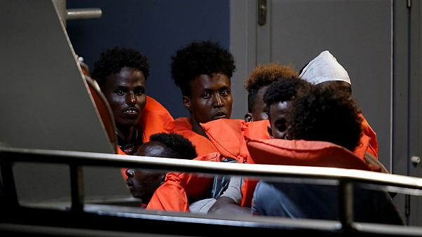Dozens of migrants aboard Alan Kurdi rescue ship disembark in Malta