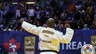 Gold in der Klasse +100kg: Teddy Riner