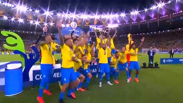 Brazília nyerte meg a Copa Américát
