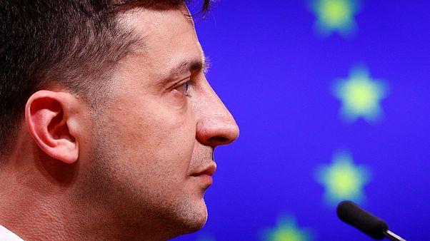'Ukraine can count on EU,' bloc's leaders tell new president Zelensky