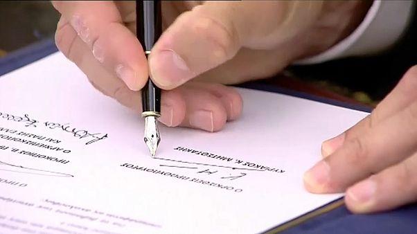 """Mitsotakis vereidigt: """"Ab heute beginnen wir mit der harten Arbeit"""""""