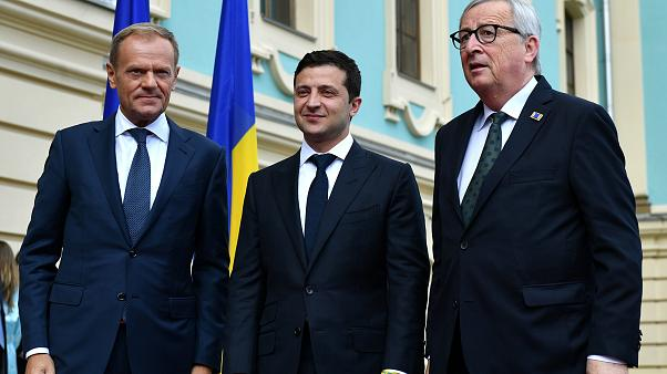 Zelensky quer reforçar laços UE-Ucrânia