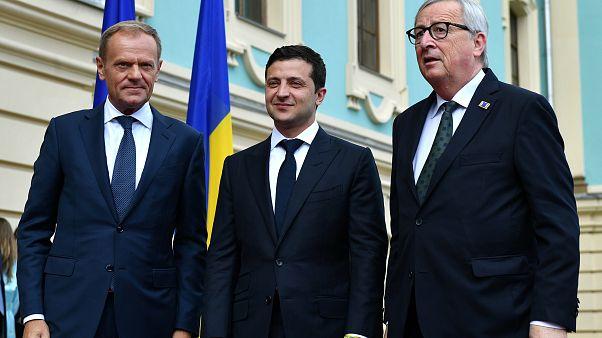 Ukrainian Presidential Press Service/Handout via REUTERS