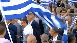 ميتسوتاكيس يتسلّم السلطة في اليونان ويتلقّى رسائل تهنئة