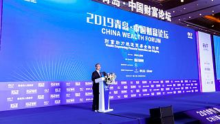 Qingdao teatro del China Wealth Forum