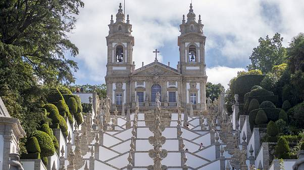 Bom Jesus do Monte temploma az észak-portugáliai Nogueiró e Tenoes településen