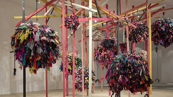 Phyllida Barlow for Masterpiece Presents at Masterpiece London 2019, © Phyllida Barlow, Courtesy the artist and Hauser &Wirth, Photo: Alex Delfanne