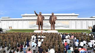 North Korea remembers founding father Kim Il Sung on 25th anniversary of death