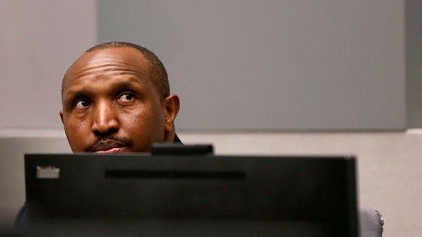 Ex-Rebellenanführer Bosco Ntaganda im Gerichtssaal
