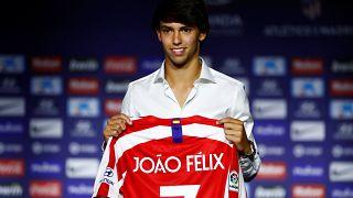 L'Atletico présente Joao Felix, son prodige à 120 millions