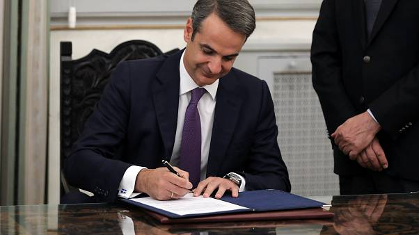 Mitsotakis was sworn in as Prime Minister on Monday
