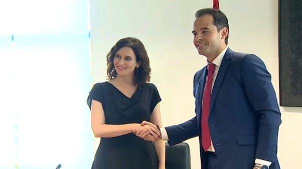 Vox veta el pacto en Madrid entre PP y Ciudadanos