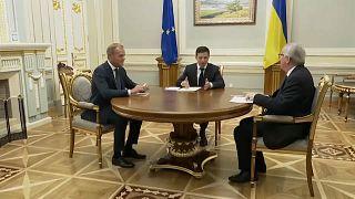 EU sichert der Ukraine Unterstützung zu - gegen Russland
