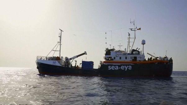 Sea-Eye im Mittelmeer