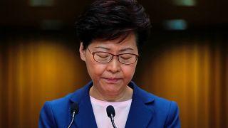 El proyecto de ley de extradición de Hong Kong, dado por muerto por la jefa del Gobierno Carrie Lam