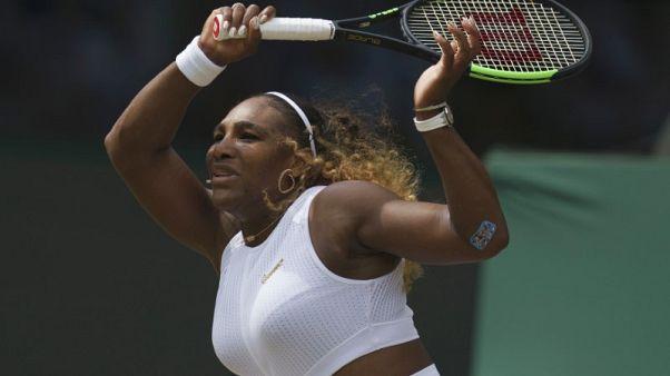 لاعبة التنس الأمريكية سيرينا ويليامز