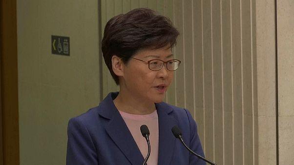 كاري لام الرئيسة التنفيذية لهونغ كونغ