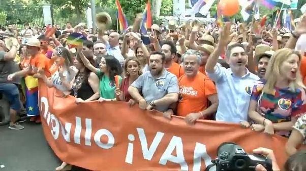 La policía nacional afirma que no hubo violencia hacia Ciudadanos durante el Orgullo LGTBI
