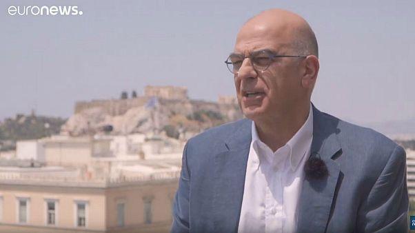 Yunanistan'ın yeni Dışişleri Bakanı Nikos Dendias