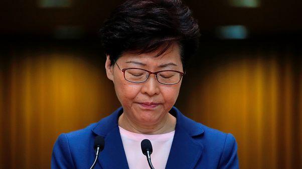 رهبر هنگ کنگ: لایحه استرداد متهمان به چین «مرده» است