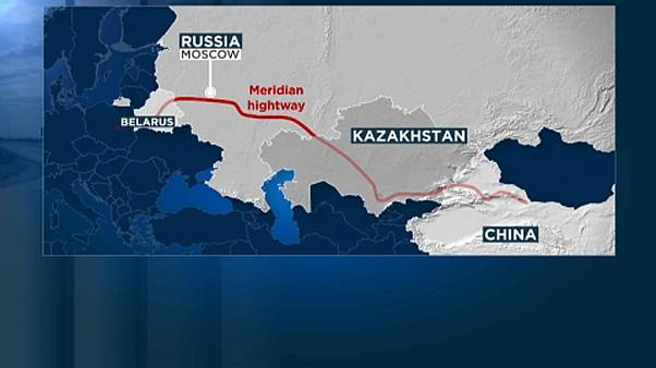 Una autopista unirá China con Europa a través de Rusia