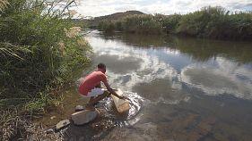 Víztisztító állomás, amely bárhol felállítható