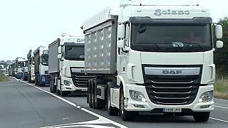 Los transportistas españoles del carbón protestan por los efectos de la transición energética