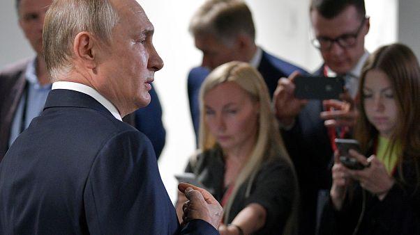 Κατά των κυρώσεων στη Γεωργία ο Πούτιν