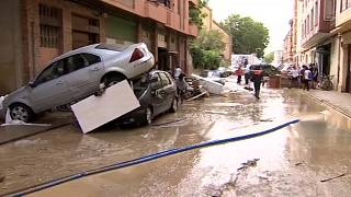 Наводнения в Наварре