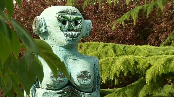 Óriásszobrok lepték el London egyik legnépszerűbb parkját