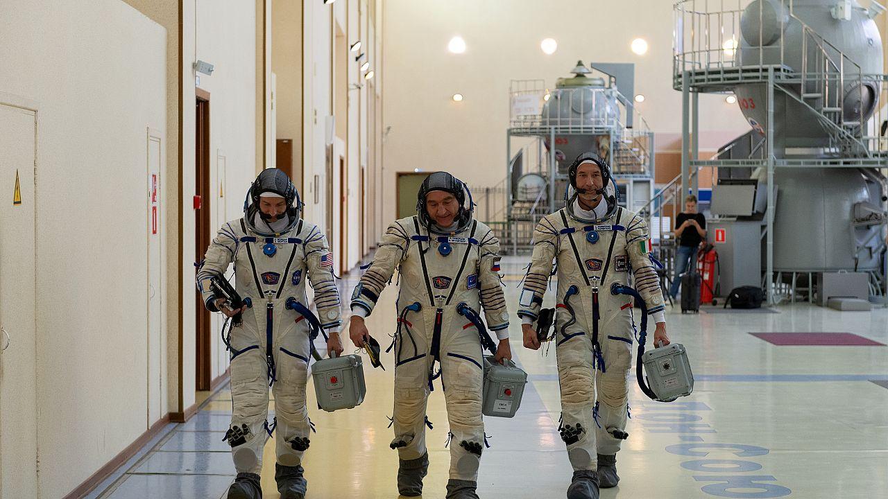 """Deuxième chronique de l'espace de notre envoyé """"spatial"""", Luca Parmitano"""