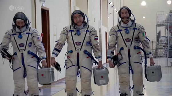 SPACE CHRONICLES | Astronauts 'emotional' as launch of space station mission approaches