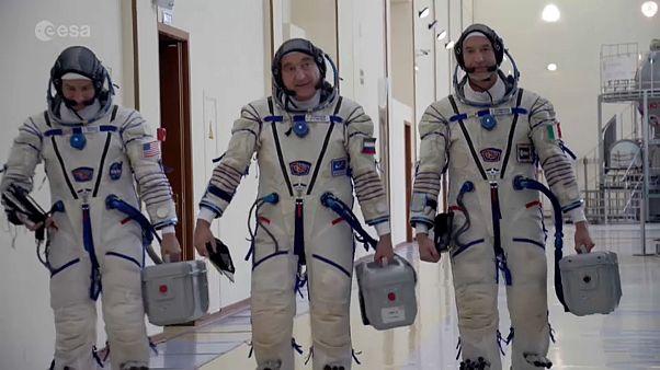 Luca Parmitano: forró dróton az űrből
